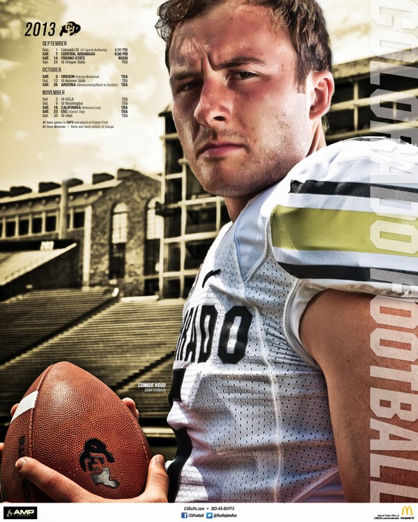 2013 Colorado Buffaloes Schedule Posters The Ralphie Report