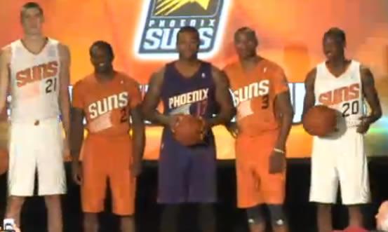 pretty nice fac5b e7925 Suns unveil new uniforms - SBNation.com