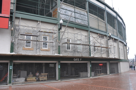 Wrigley Field Offseason Rehab Work Update Bleed Cubbie Blue
