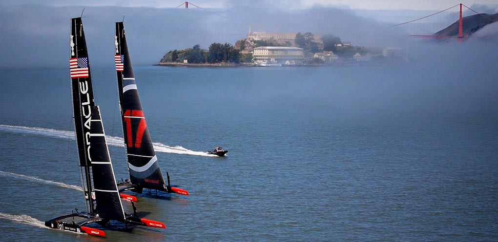 Billionaire death race: inside America's Cup and the world's