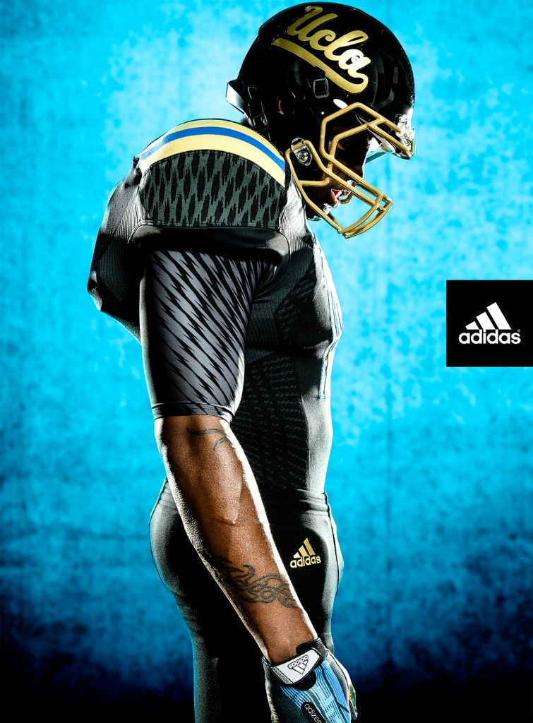 1ca37d3a8 PHOTOS  UCLA unveils new black alternate uniforms for Washington ...