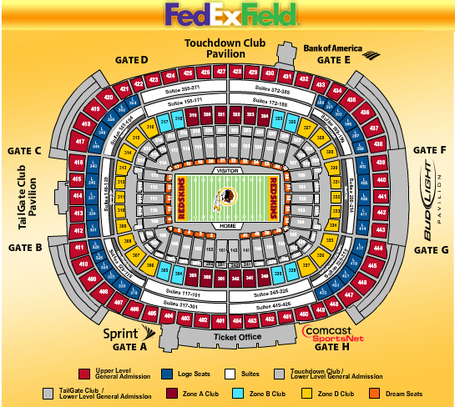diagram of fedex field diagram of interior of 2002 dodge caravan