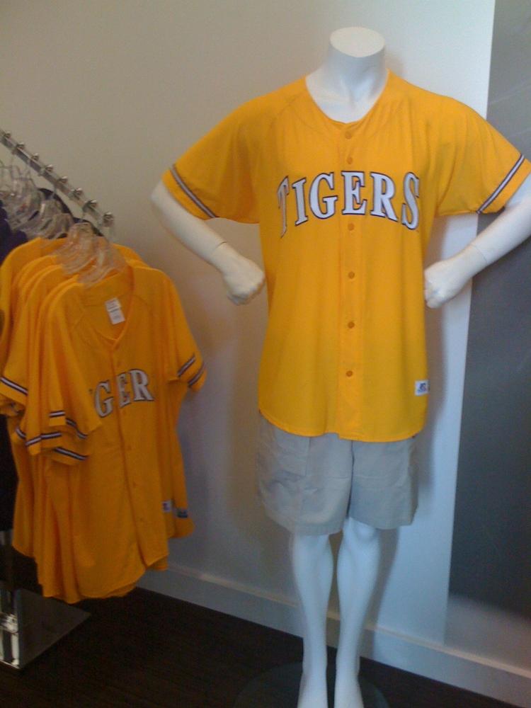 watch b82c6 4ea53 Finding Gold Baseball jerseys | TigerFan.com - LSU Sports Forum