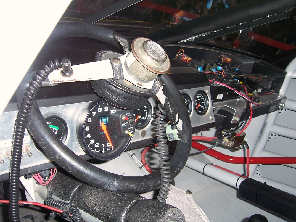 Inside the cockpit - the what? NASCAR 101 shows you the ...Dale Earnhardt Bloody Car