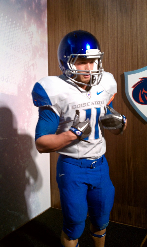 282ad6a75ef Boise State Nike Pro Combat uniforms unveiled