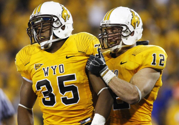 pretty nice d6d32 06ed4 Fashion Police: Review of the Wyoming Cowboys new uniforms ...