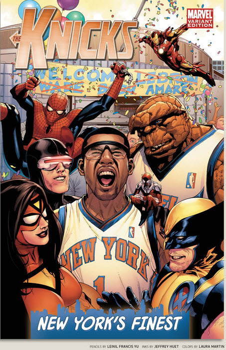 Every nba team makes theirs marvel in 'espn magazine' [gallery].