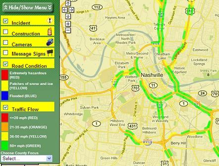 TDOT\'s Smartway provides updates on Nashville roads - On the ...