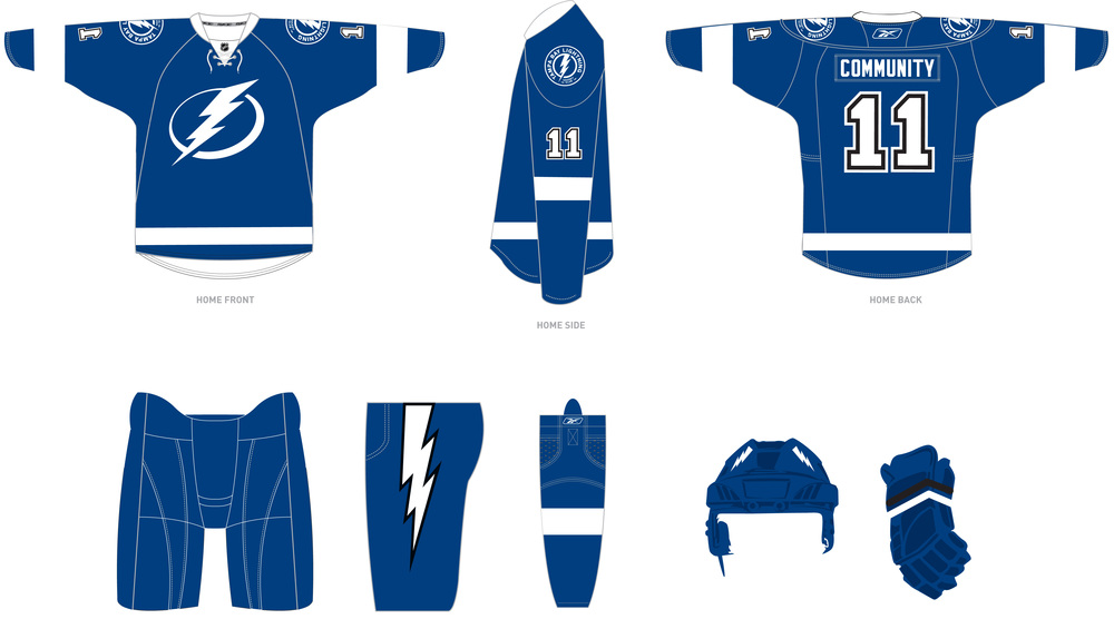 huge selection of 2751f 9168a Tampa Bay Lightning new brand now incorporates old features ...