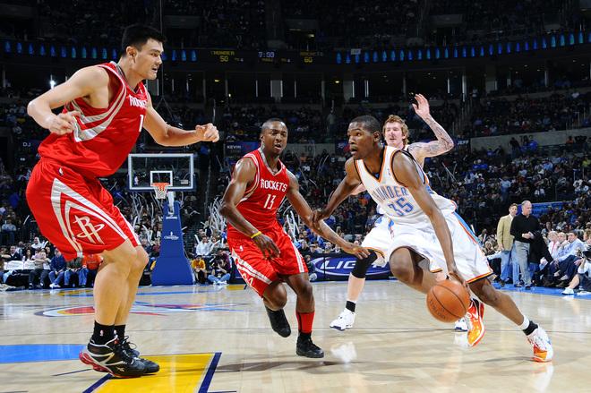美媒:姚明在當下打NBA會如何?網友:那將會是加強版的KD!