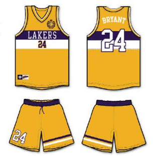 new arrivals 9dac3 ca85d Tommy Hilfiger Redesigns Lakers Uniforms For ESPN - SB ...