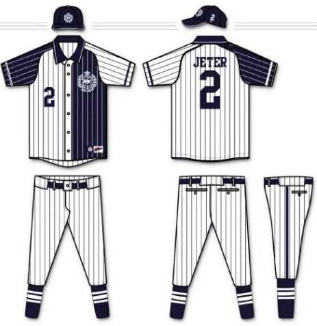 New York Yankees  Uniform Re-Design  Tommy Hilfiger Goes Where No ... 100c165afb5