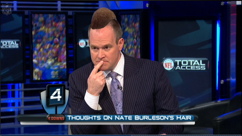 Nate Burleson Inspires Rich Eisen To Experiment With A
