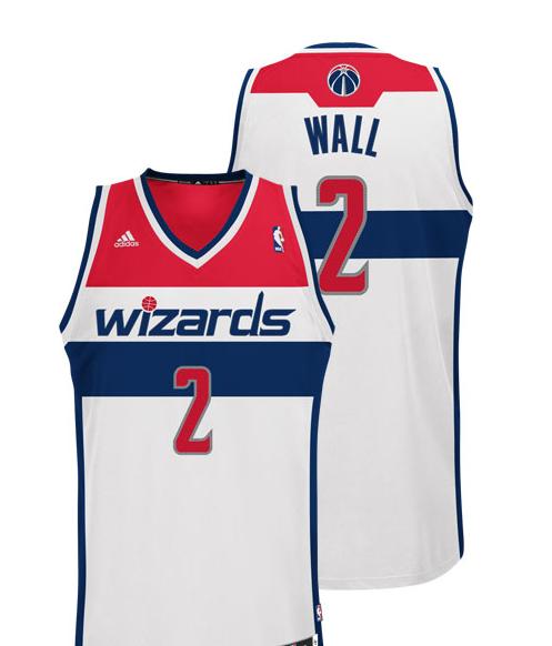 PHOTOS  New Washington Wizards Uniforms ce29bad0f