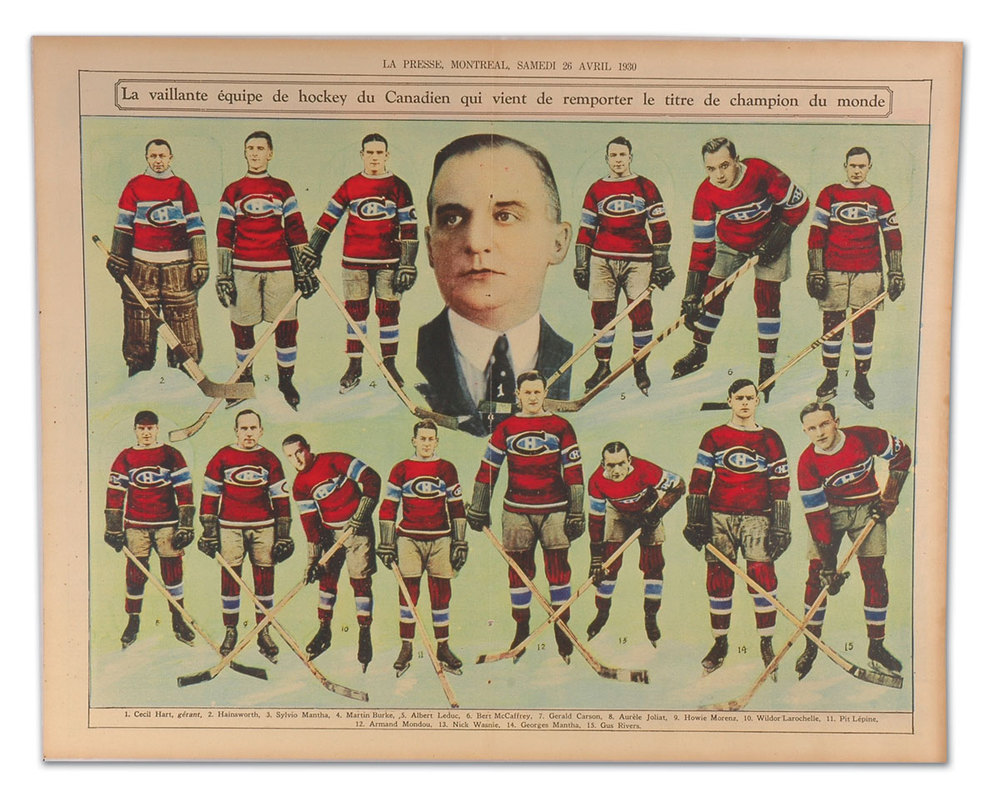 1929-30 NHL Season  A Third Stanley Cup - Eyes On The Prize 7192aa927