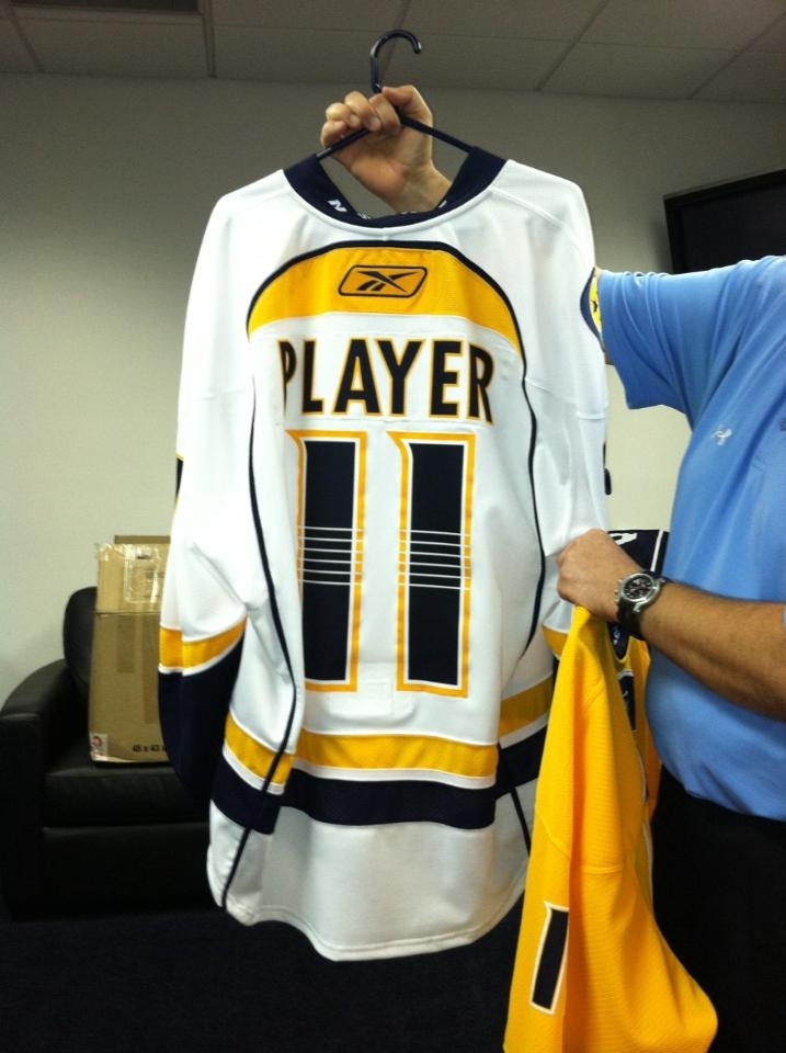 Our First Look At The New Nashville Predators Jerseys  - On the ... 5efb72355