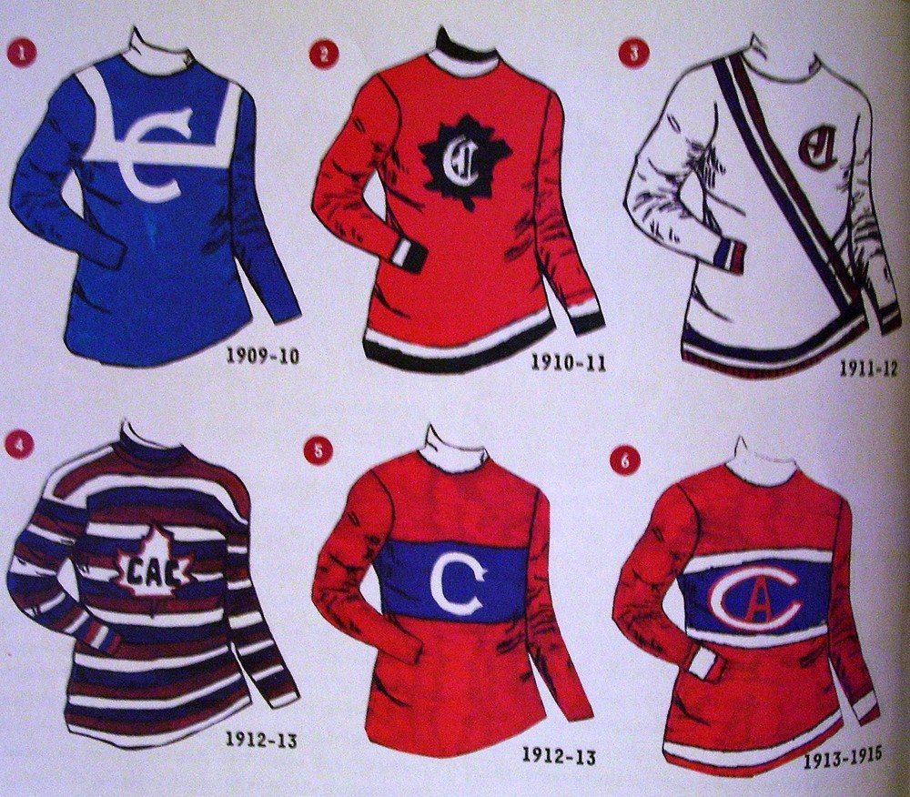 As the Canadiens 1912 ... Vezina Montreal ... b9b804f3f05