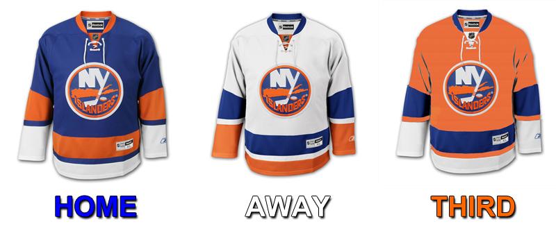 buy online b83f0 c283e Visual: If the Islanders Third Jersey Went Orange ...