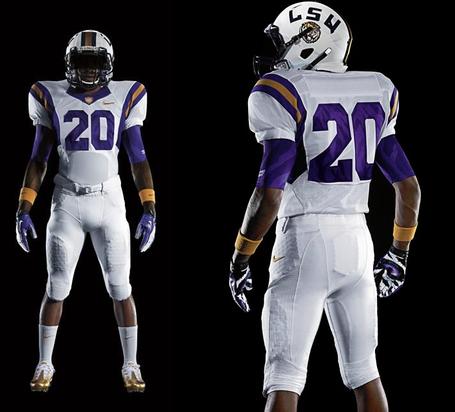 730a5a533 Except Nike proves that s not true with LSU s Pro Combat uniform this  season  Uniform post 3 medium