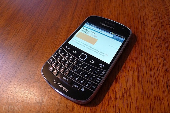 Blackberry Bold 9930 Review The Verge