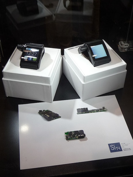 Watch Bluetooth smartwatch prototype demonstrated on videoIm Watch