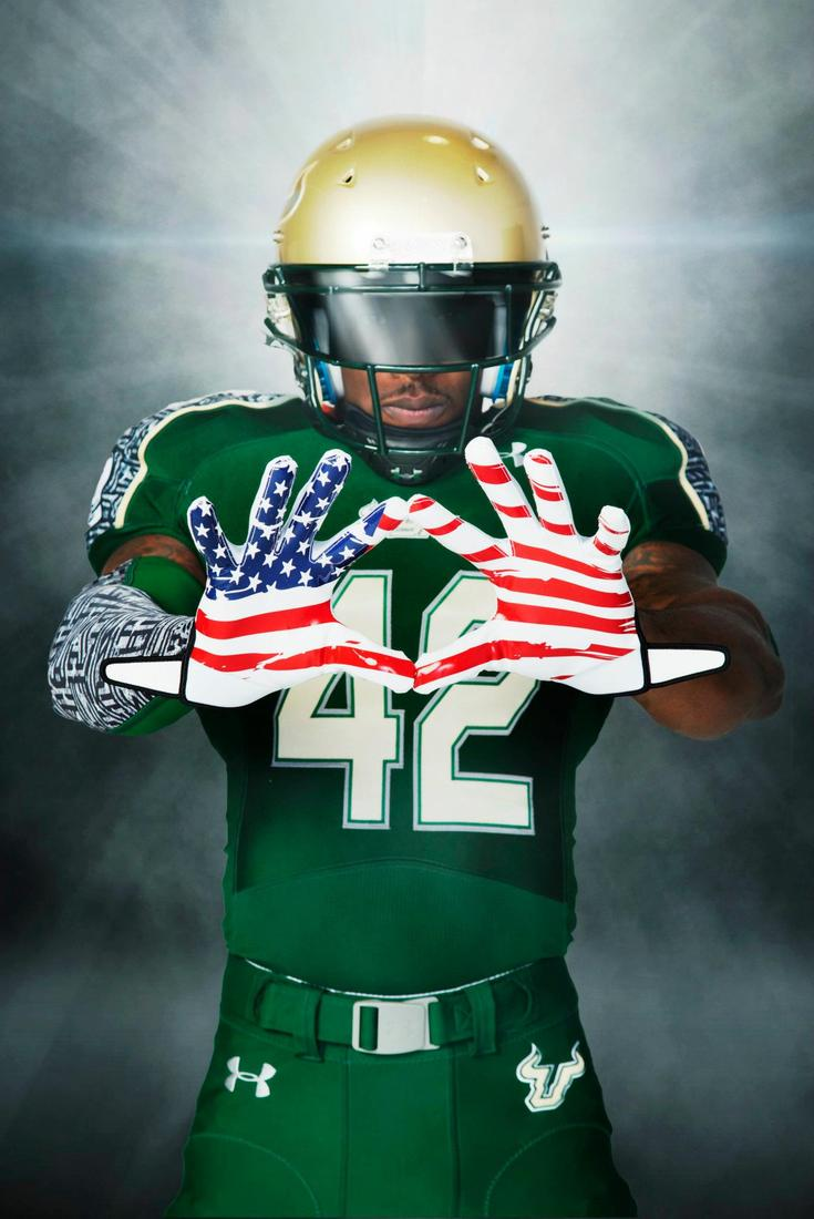 USF And Under Armour Unveil Wounded Warrior Jerseys - The Daily Stampede e402089b6