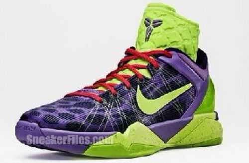fa0f580f92c1 PHOTO  Kobe Bryant Debuts Nike Zoom VII