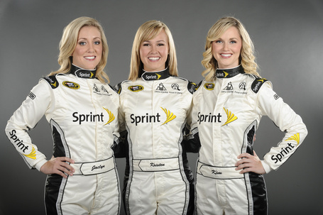 Nascar Pole Position >> And The New Miss Sprint Cup Is... Kristen Beat - SBNation.com