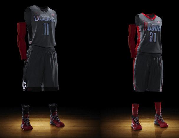 the best attitude 8ed4e 323b3 UConn's Nike Platinum Elite Basketball Uniforms (More Photos ...