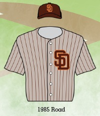 new concept a72b0 96e09 The best Padres uniforms throughout history as chosen by San ...