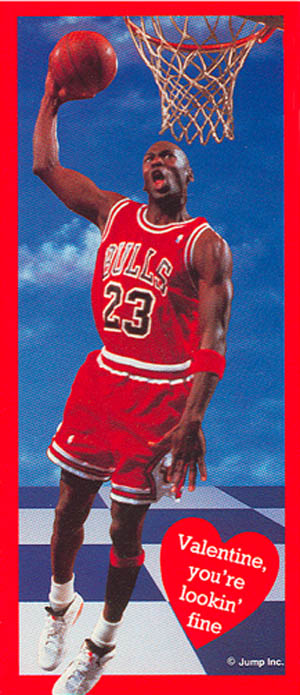 7ae54b419735 Michael Jordan Would Like To Wish You A Happy Valentine s Day ...