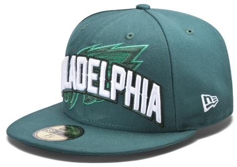 New Era s 2012 Eagles NFL Draft Hat - Bleeding Green Nation e20512da33f