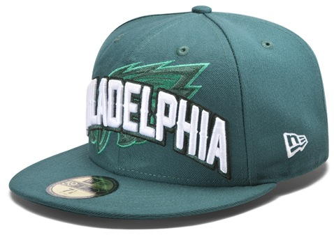 105e182cfe9 New Era s 2012 Eagles NFL Draft Hat - Bleeding Green Nation